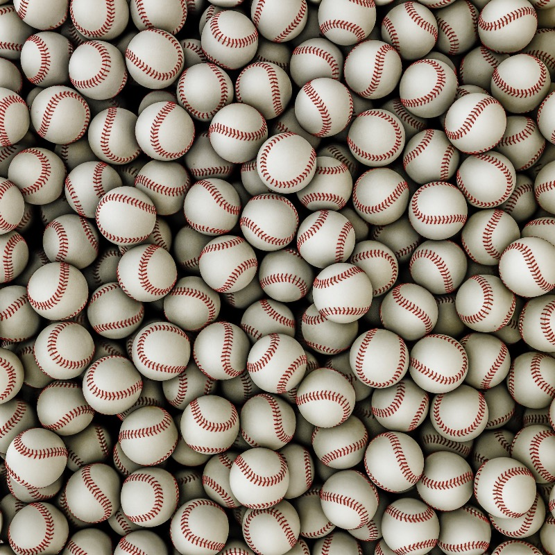 Physics can also tell us how many baseballs can fit in that container.