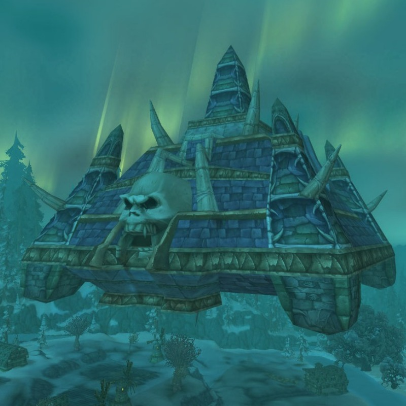 Naxxramas in Wrath of the Lich King.