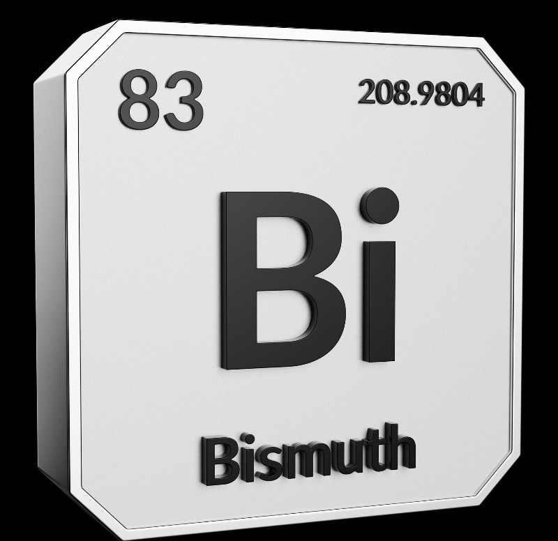 Bismuth is on the periodic table.