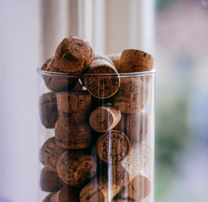 All the corks