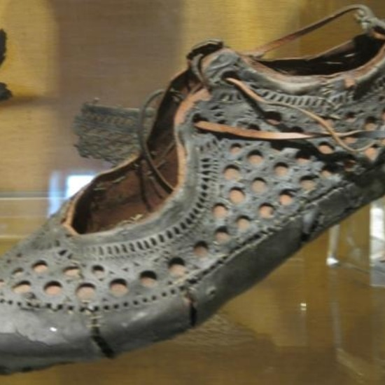 Ancient Roman Sandal. Wow.