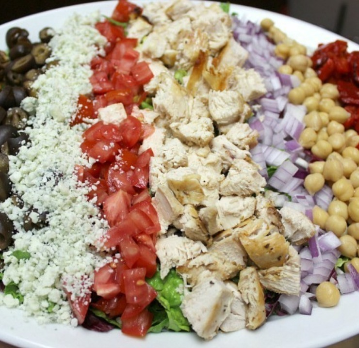 Chopped salad a different way