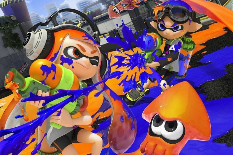 The Splatoon characters are squid-people called Inklings.