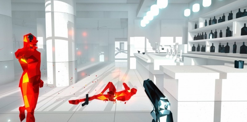 Superhot has unique mechanics while still being firmly in the fps genre.