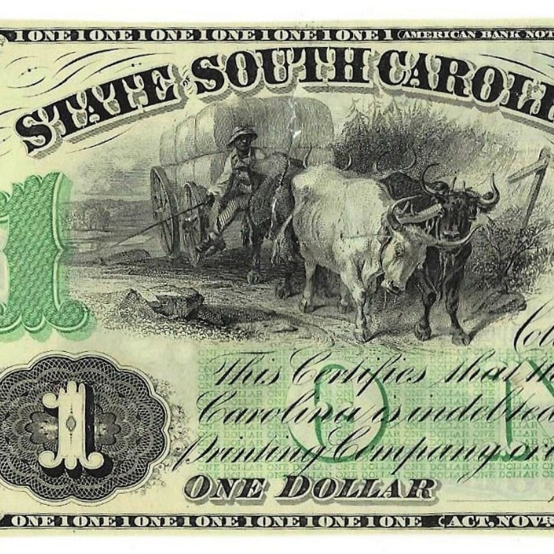 A Reconstruction Era bank note