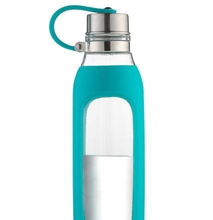 Water bottles with a strap are good