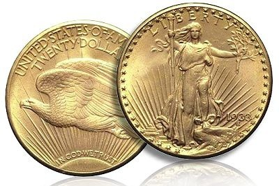 1933 Double Eagle coin.