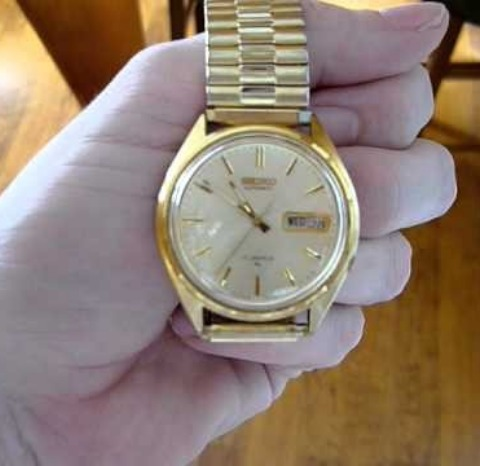 An older automatic watch.