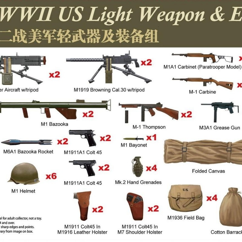 American weapons