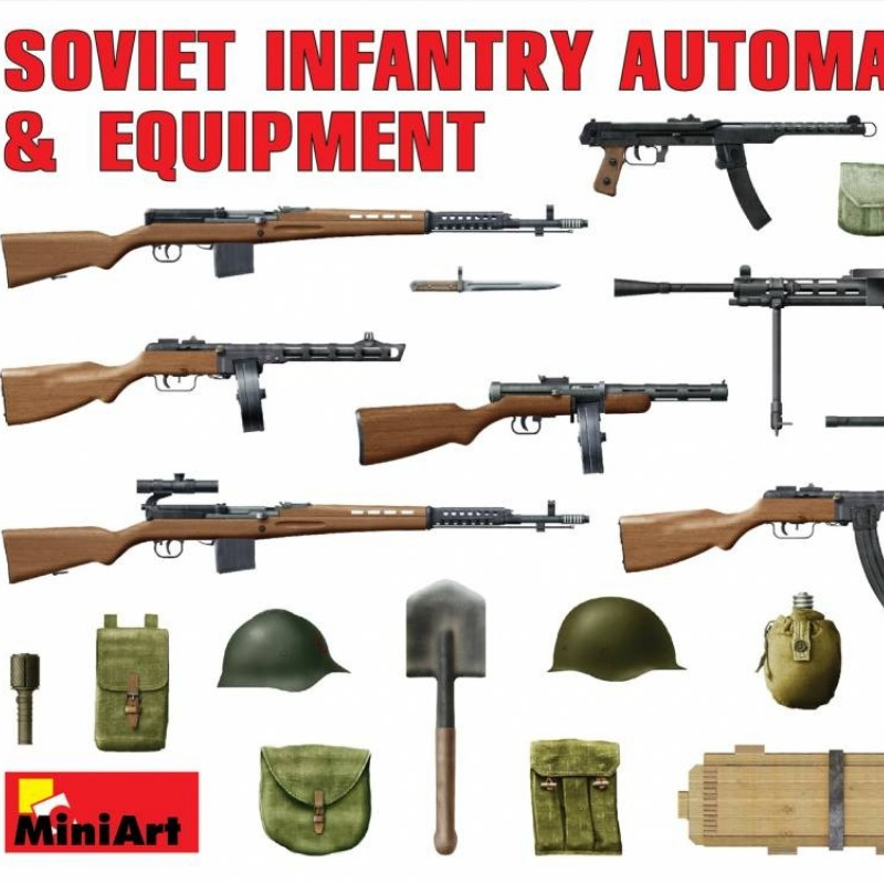 Soviet WWII weapons