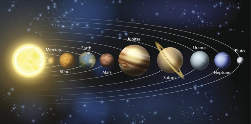 This is grossly inaccurate. The terrestrial planets are far too big.