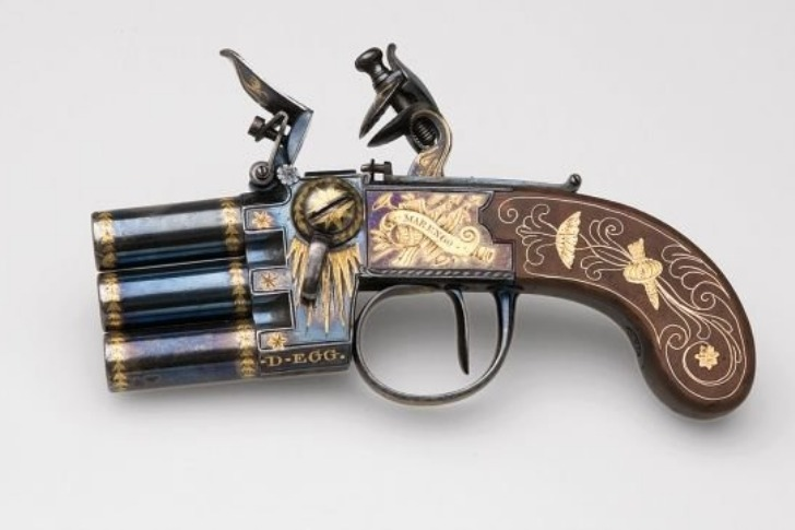 This is apparently Napoleon's pistol.