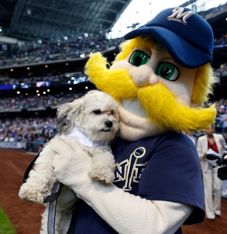 The Brewer's mascot!