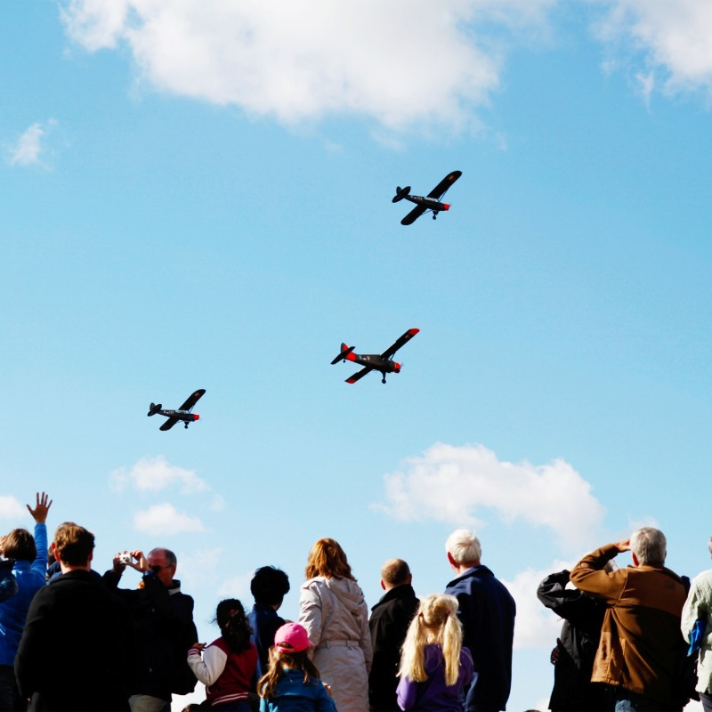 The 2012 ceremony in memory of Operation Market Garden