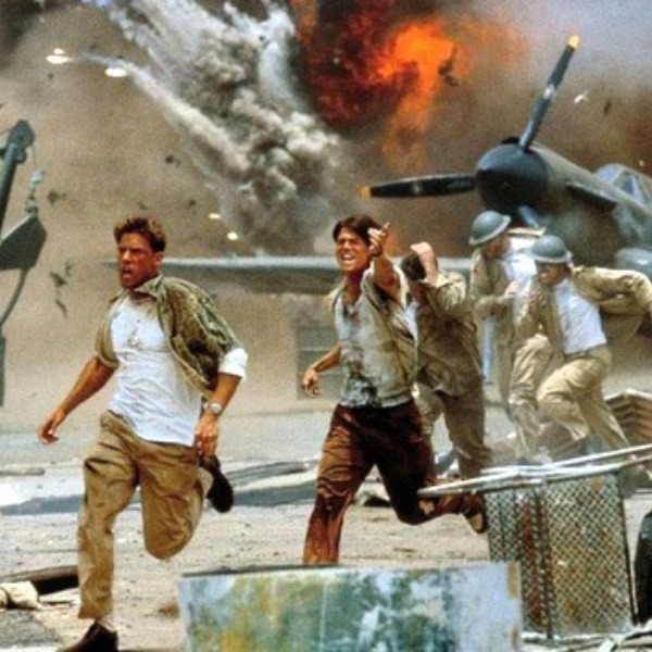 A still from the movie Pearl Harbor.