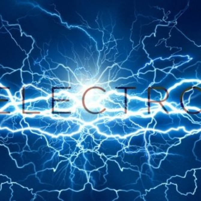 Electron is the negative charge.