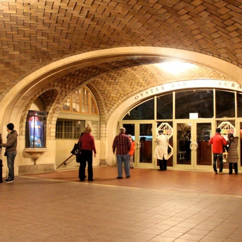 The arches-- whispering gallery.