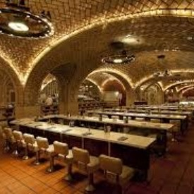Inside the infamous oyster bar.