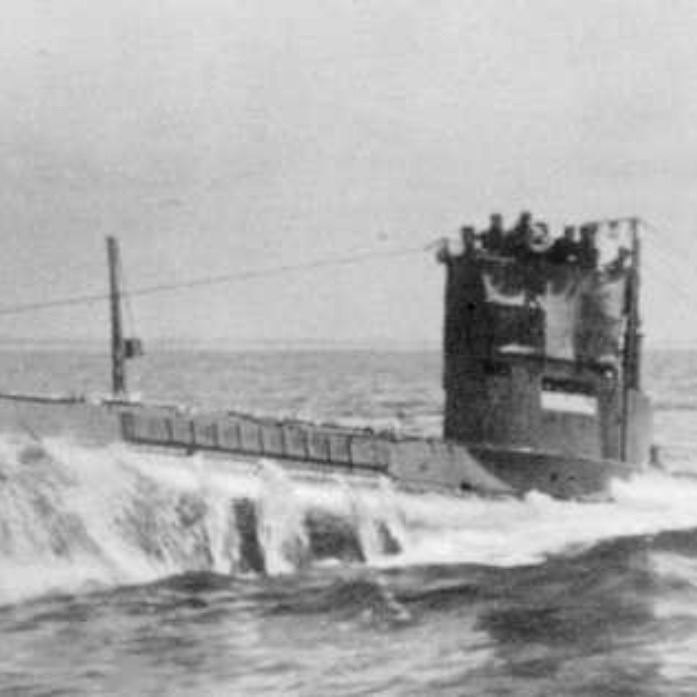WWI submarine.