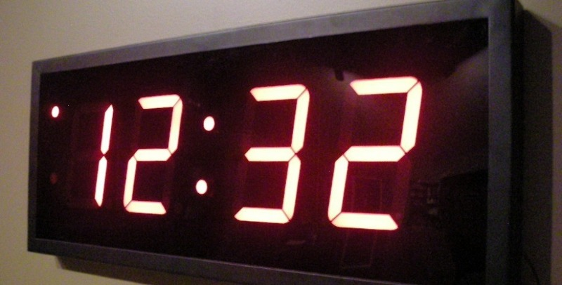 This was basically their digital wall clock. Who would give this as a gift?