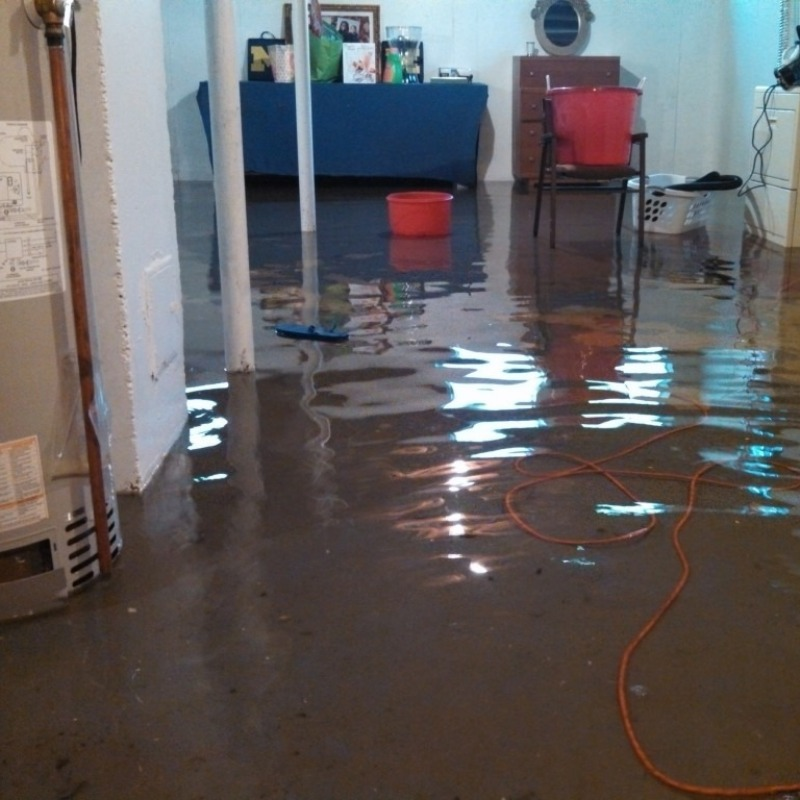 The basement flood was such an awful thing.