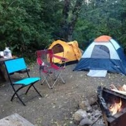 A good campsite is everything.
