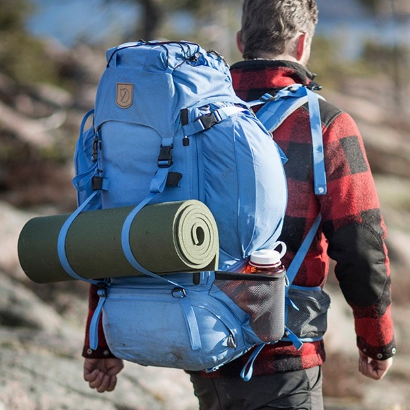 A camping backpack is a smart idea.