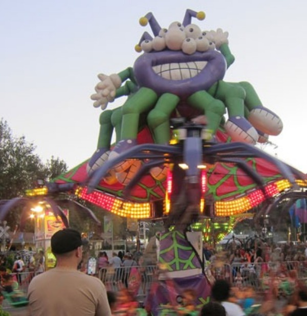 A big inflatable spider!