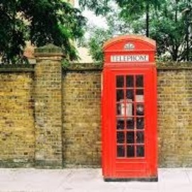 Loved these little phone booths in England.