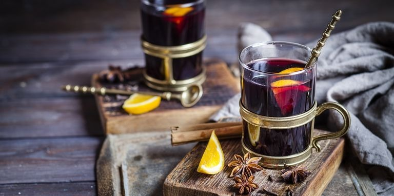 Mulled wine is might fine!