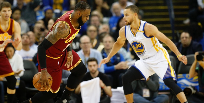 LeBron and Curry will face-off again.