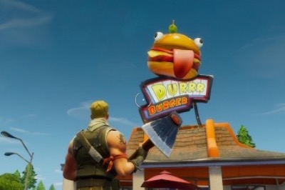 Durr Burger inside of Greasy Grove.